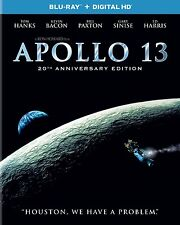 APOLLO 13 (20th Anniversary 4k remastered edition)   Blu Ray -  Region free