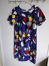 SEARS WOMENS  SIZE 12-14 PULL ON  NIGHTGOWN FLORAL 2 POCKETS SLEEPWEAR 2 POCKETS