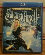 Sucker Punch (Blu-ray Disc, 2011, Extended Cut) Zack Snyder, Emily Browning