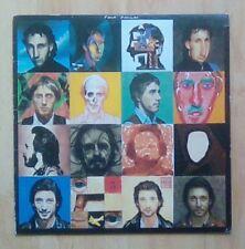 The WHO Vinyl  LP Face Dances,  (Includes You Better You Bet &  Poster) EX