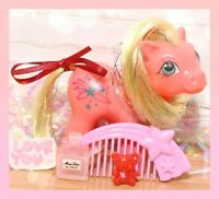 ❤️My Little Pony MLP G1 Vtg BABY STELLA Starlight UK Euro Starflower COMB❤️