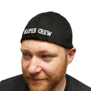 Reaper Crew Baseball Cap Sons Of Anarchy TV Show SOA Hat Biker Flexfit Fitted