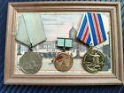 set 3 medal ussr(lmd)For Defense of the LENINGRAD+250 anniversary+Blockade 900