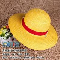 ONE PIECE LUFFY Straw hat Cosplay Hat Boater Beach Hat cap Anime Cartoon Gift