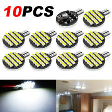 10Pcs T10 LED 24SMD Super Bright White W5W 194 Car RV Interior Dome Light Bulbs