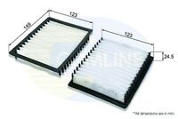 Comline Cabin Pollen Interior Air Filter EKF138  - BRAND NEW
