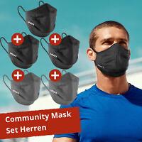 5er Pack UYN Community Maske Gesichtmaske Schutz Mund-Nasen-Bedeckung Herren