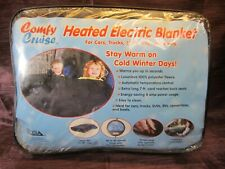 """Comfy Cruise 12-Volt Heated Electric Emergency Travel Blanket 42 """"x 58"""""""