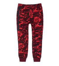 Nike Sportswear Tech Fleece Jogger Pants Red Camouflage Camo 682852 677 Men's L