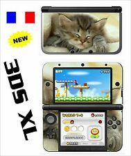 SKIN STICKER AUTOCOLLANT DECO POUR NINTENDO 3DS XL - 3DSXL REF 40 CHATTON