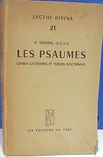 Pius Drijvers. Les Psaumes, genres littéraires et thèmes  - World FREE Shipping*