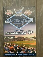 2014 Wilmington Blue Rocks  All  Star Game Program Rare