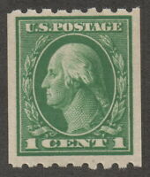 1912, Us 1c, MH, George Washington, Sc 410, Cv 13$