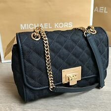 BNWT Gorgeous MICHAEL KORS shoulder quilted VIVIANNE MK bag RRP£280 100% Genuine