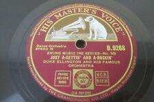 "Duke Ellington & His Famous Orchestra: Just A-Settin' And A-Rockin' 10"" Vinyl 78"