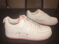 New Nike Air Force 1 07 Desert Sand Sneaker Shoes Size US 12