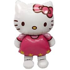 116*68cm Hello Kitty Cat Foil Balloons Party Home Birthday Decoration Kids Gift