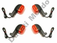 Set of four indicators for Cagiva Ducati turn signal blinker winker front rear