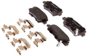 Disc Brake Pad Set-Ceramic Disc Brake Pad Rear ACDelco Advantage 14D1544CHF1