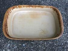 "Pampered Chef Lasagna Stoneware Pan Heritage Collection Baking Dish 15-1/2""X10"""