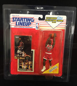 Michael Jordan 🏀 Starting Lineup 1993 Exclusive Topps Collecter Cards With Case
