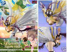 Digimon Adventure Figure Angewomon & Yagami Hikari GEM G.E.M from Japan F/S