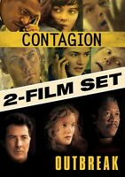 Outbreak/Contagion (DVD, 2014, 2-Disc Set) NEW