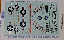 Microscale Decal 1:48 Scale #48-1004 / North American RA-5C Vigilante: RV AH-7