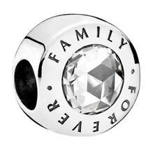 Genuine Pandora Forever Family Charm Silver S925 ALE 791884CZ