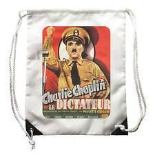 mochila Película El Gran Dictador, mochila, cartel Cine, Charlie Chaplin Charlot