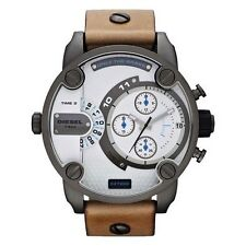 OROLOGIO DIESEL DZ7269 CHRONOGRAPH NUOVO WATCH NEW MEN UOMO PELLE LEATHER BROWN