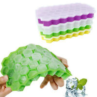 Ice Cube Mold Honeycomb Shape Ice Cube Maker Ice Tray Home Storage Containers