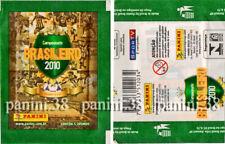 "RARE !! Pochette ""CAMPEONATO BRASILEIRO 2010"" packet, tüte, bustina PANINI"