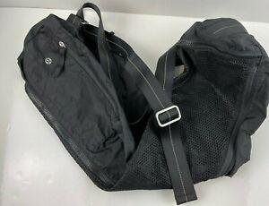 """Lululemon Yoga Mat Bag Black 31.5"""" Width 10""""Height 6.5"""" Depth"""