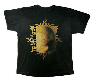 GODSMACK Faceless Tour Tee Shirt Men's Medium 2-Sided Rock Graphic T Retro Vtg