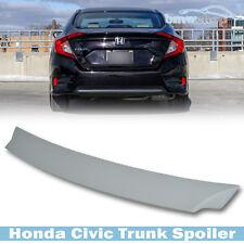 Unpainted Honda Civic 10th Sedan 4DR DX EX LX  V-Type Rear Trunk Spoiler 2016