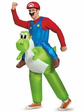 ADULT SUPER MARIO RIDING YOSHI INFLATABLE COSTUME
