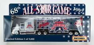 1997 Matchbox MLB All-Star Game '97 Cleveland Indians / Ford Aeromax 1/5,000