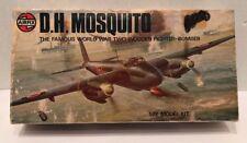 Vintage Airfix De Havilland Mosquito 1:72 Scale Model Kit New Unassembled 1975