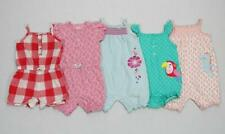 Girl 12 Months Carter's One Piece Short Outfit Rompers Summer Clothes Lot