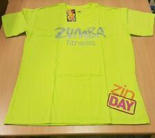 Zumba FITNESS ZIN DAY T-shirt - LIME PUNCH SIZE SMALL/MEDIUM