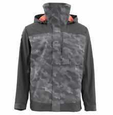Simms Challenger Jacket - Hex Camo Carbon - Size Large - Sale & Free US Shipping
