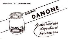 Buvard  Danone le Yoghourt des Digestions Heureuses