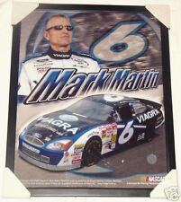 MARK MARTIN PFIZER VIAGRA NASCAR FRAMED 16 X 20 PHOTO