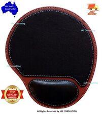 Mousepad Leather PU, Ergonomic Wrist Rest, Non-Slip, Wrist Support Mouse Pad AU