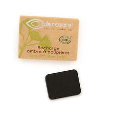 Recharge Fard à Paupières n°23 Noir mate  Bio - 1,3 g - Couleur Caramel