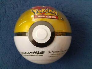 Pokemon Level Ball Tin NEW card Booster packs XY Sun Moon Coin B20 Pokeball
