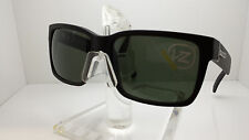 VON ZIPPER ELMORE BKS SUNGLASSES MATTE BLACK/GREY