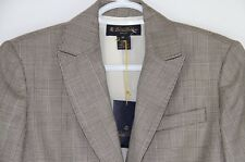 Women's Brooks Brothers Petite Silk Lined Wool Blazer 2P New Houndstooth Vector