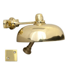 Classic Polished Brass Shop Door Bell Domed BH1001 Over door chime
